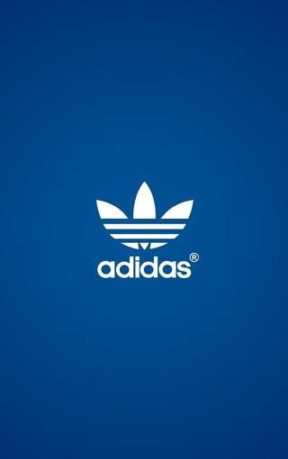 5s阿迪达斯创意logo手机壁纸