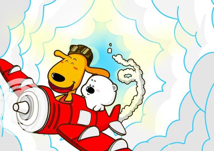 小囧熊超可爱手机壁纸欣赏