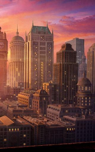 风景壁纸 城市风景壁纸 欧洲城市建筑壁纸图片   zol手机壁纸有部分