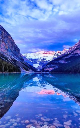 蓝色风景高清手机壁纸图片