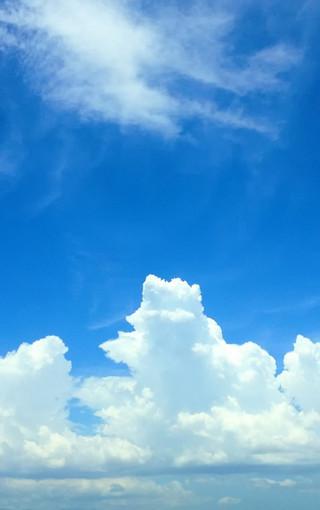 蓝色风景iphone 6 plus手机壁纸