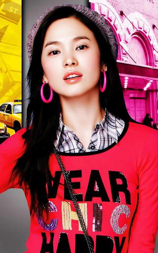 韩国女星宋慧乔高清手机壁纸