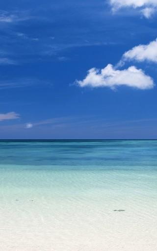 沙滩海岸高清手机壁纸