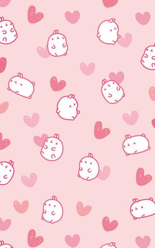 粉红可爱安卓手机壁纸