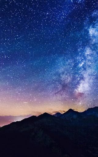 唯美天空蓝色手机壁纸