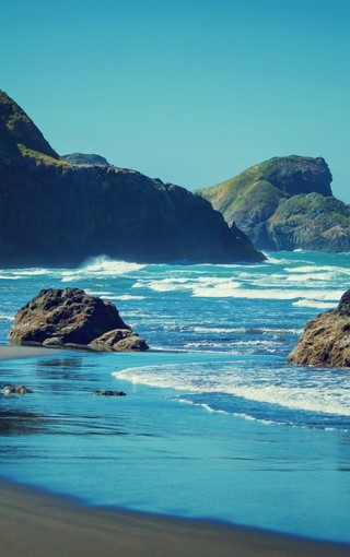 沿海景色oppo手机壁纸