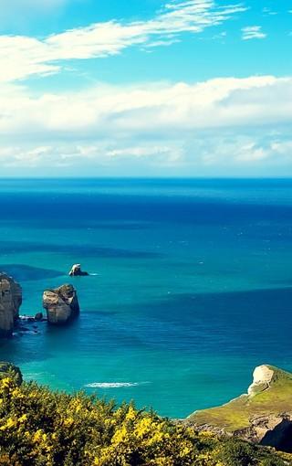 风景壁纸 自然风景壁纸 大海安卓高清壁纸   zol手机壁纸有部分资源