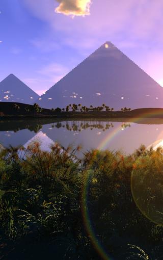 金字塔主题手机壁纸