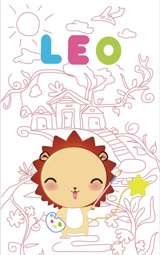 小狮子leo高清手机壁纸
