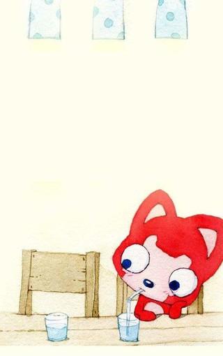阿狸桃子手机壁纸