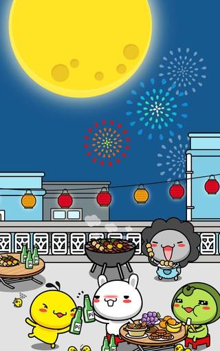 八月十五中秋节手机壁纸图片