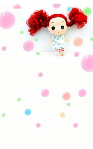 迷糊娃娃手机壁纸
