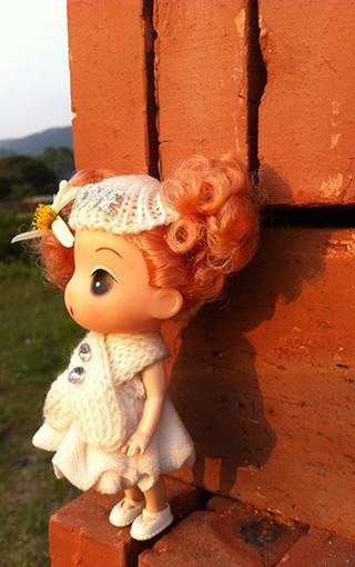 娃娃背景素材竖版
