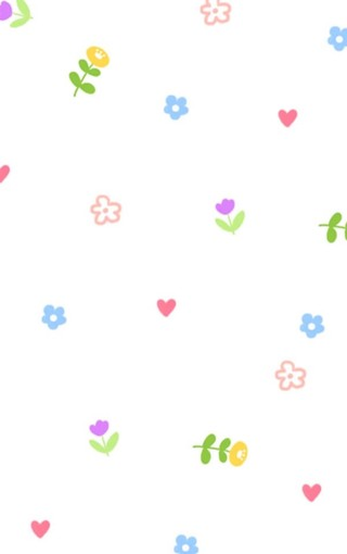 漂亮小可爱碎花手机壁纸