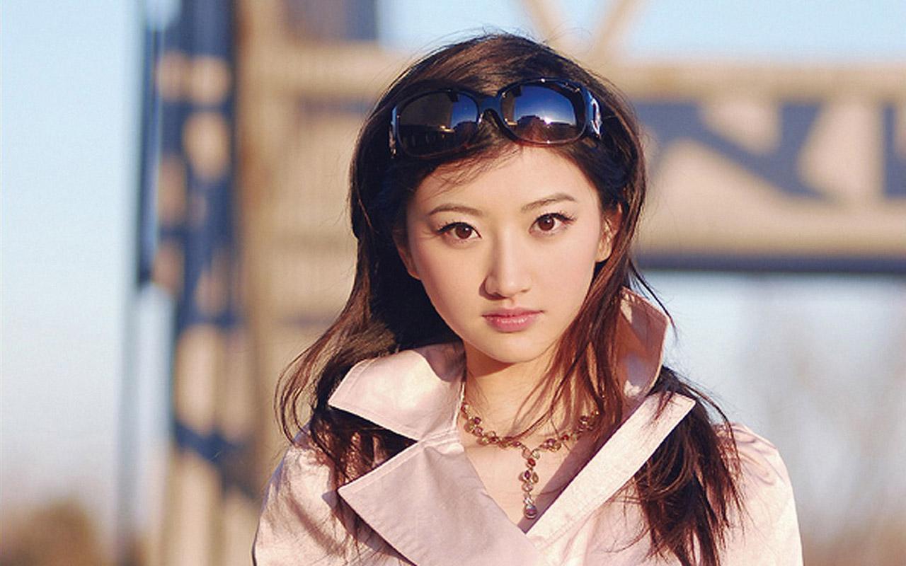 清纯的中国女孩 景甜宽屏壁纸