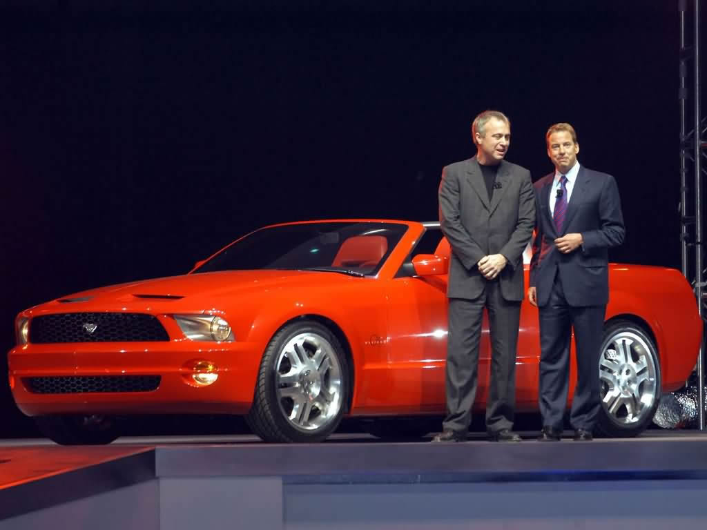 2003款福特野马跑车壁纸 截图高清图片
