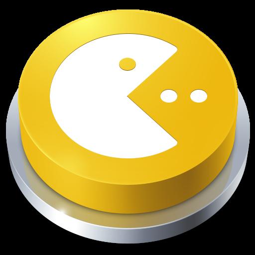 软件下载 素材库 鼠标指针 精美立体圆形按钮png图标 应用截图