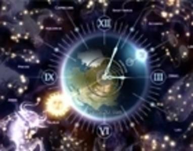 素材天下 电脑屏保 星座梦幻时钟免费下载