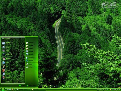 壁纸 风景 森林 桌面 500_375