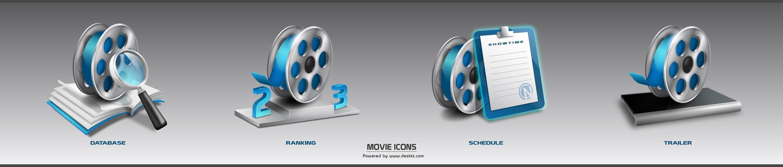 软件下载 素材库 桌面图标 电影播放器图标-movie 应用截图