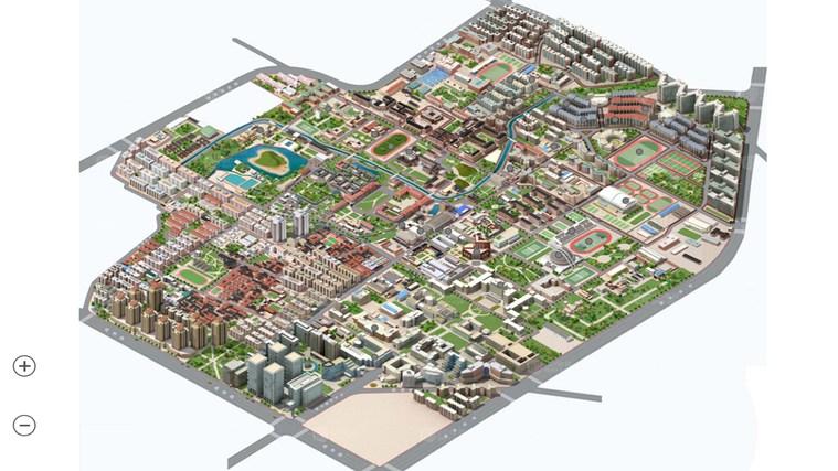 清华大学校园地图