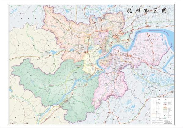 杭州地图 最新版