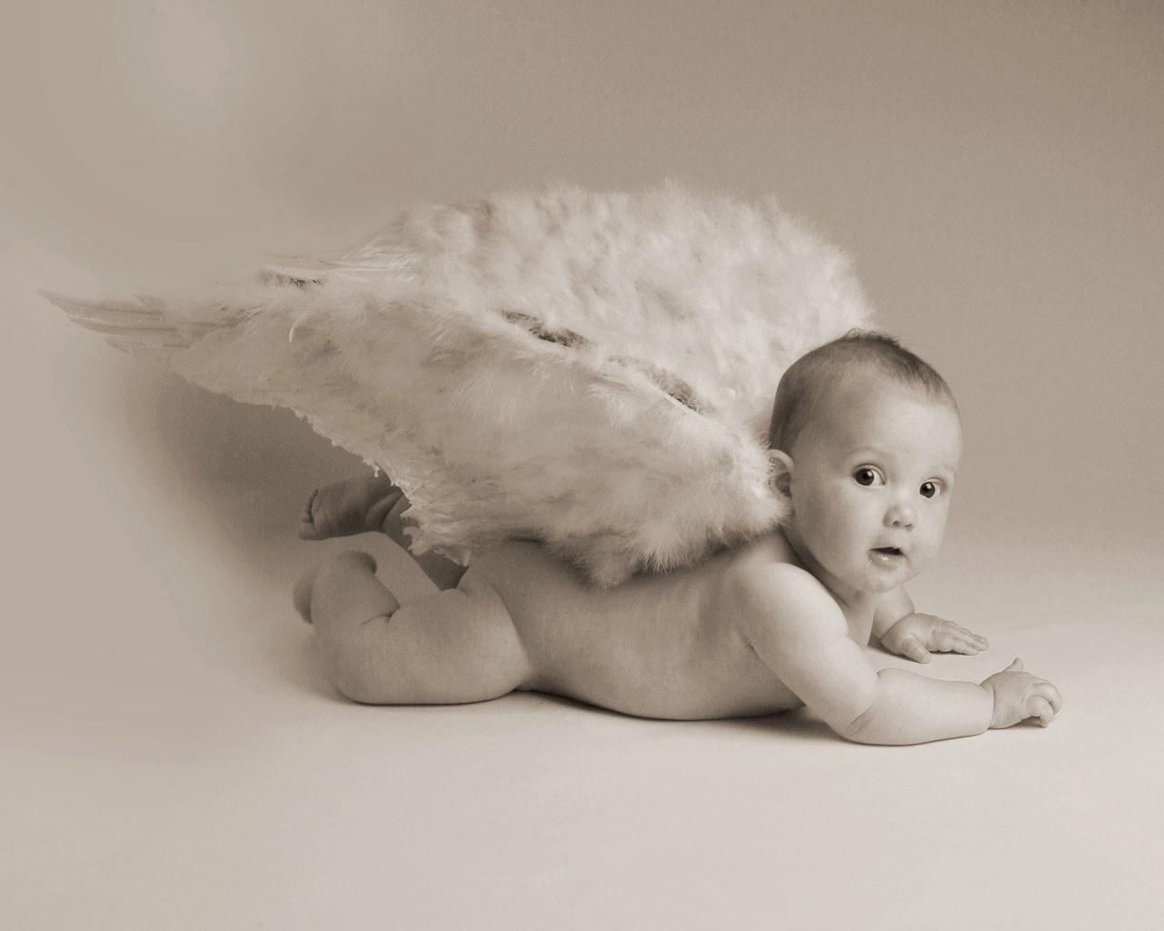 可爱婴儿儿童摄影壁纸