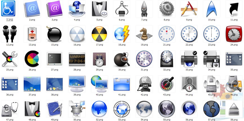 软件下载 素材天下 桌面图标 mac图标之系统篇 应用截图