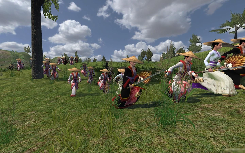 骑马与砍杀柔道mod:风云战团2.7.李小龙传奇对打三国图片