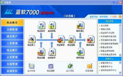 新会计准则财务软件_蓝软财务是专业化财务管理软件, 软件严格遵循国家现行会计准则