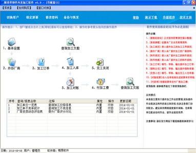 管理的軟件,軟件主要功能包括外協加工訂單以及圖紙管理、加