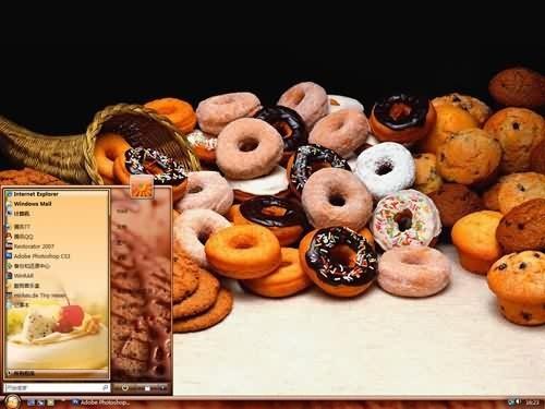 精品甜点1主题 XP/VISTA/WIN7通用版