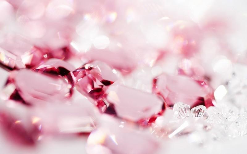 闪亮的钻石水晶浪漫闪烁背景壁纸 截图