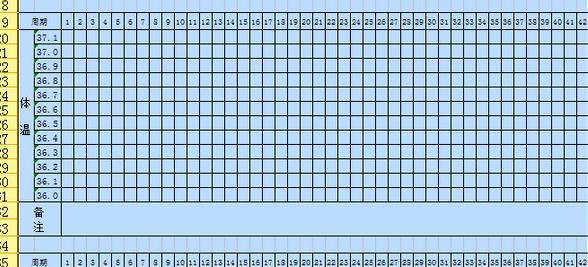 基础体温表_基础体温表软件截图-zol软件下载