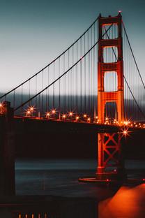 美国旧金山金门大桥高清图片壁纸2