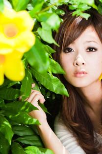 台湾网红美女手机图片壁纸