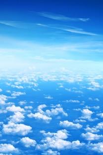 蓝天白云手机高清壁纸