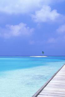 阳光沙滩高清手机壁纸