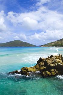 高清海滩风光手机壁纸