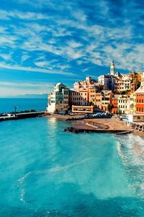 海边城市唯美图片壁纸2