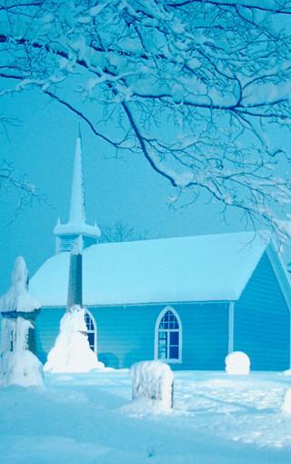 雪景高清手机壁纸图片