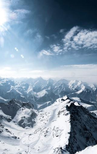 阿尔卑斯山手机高清壁纸