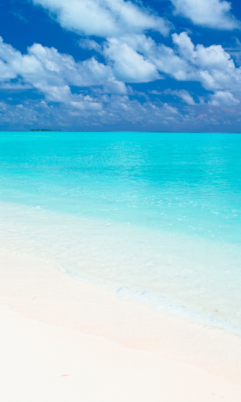 马尔代夫沙滩手机壁纸