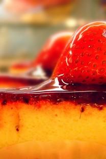 美味的草莓美食图片壁纸