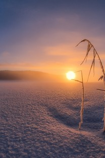 好看的冬季雪景风景图片桌面壁纸