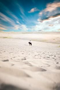 走在沙漠壁纸的人图片壁纸