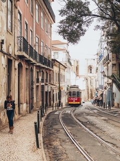 美丽的小镇风景摄影图片壁纸