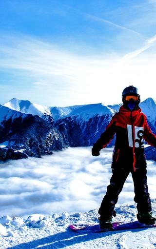 极限运动滑雪图片壁纸
