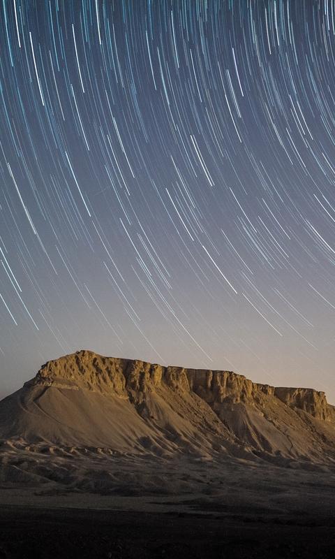 唯美星空夜景高清图片壁纸第2辑