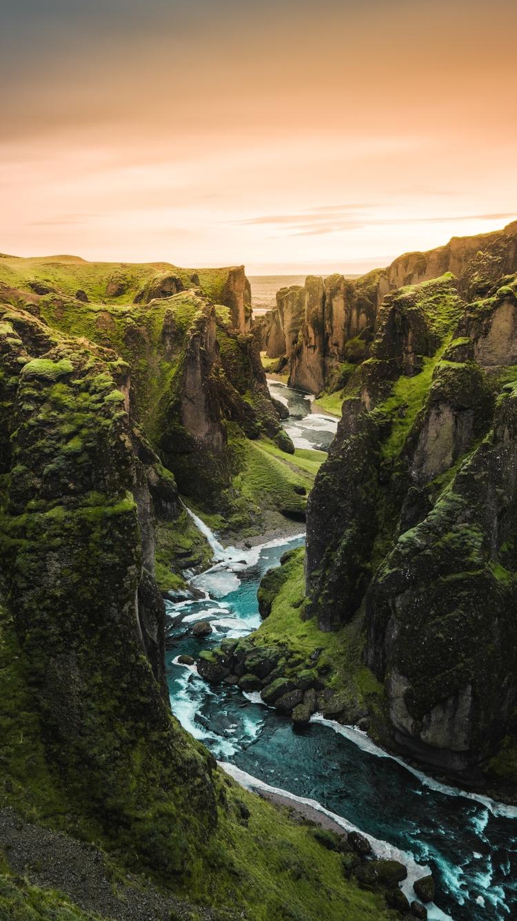 美丽自然水域风景图片壁纸